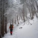 入選 雪の三峰山